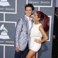 Ariana Grande et son frère Frankie Grande lors des Annual Grammy Awards à Los Angeles, le 13 février 2011.