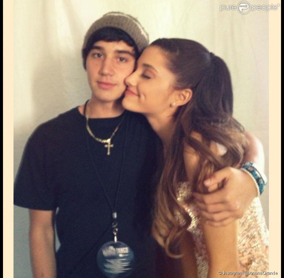 Ariana Grande et Jai Brooks, complices en 2014.