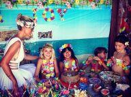 Johnny et Laeticia Hallyday : Fiesta de rêve pour les birthday girls Jade et Joy