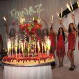 Fawaz Gruosi fête son 62e anniversaire au Billionaire. Porto Cervo, le 8 août 2014.
