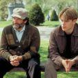 Robin Williams dans le film Will Hunting qui lui a valu l'Oscar du meilleur second rôle