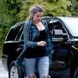 Khloé Kardashian à Southampton, le 13 août 2014.