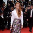 Riley Keough à Cannes, le 19 mai 2014.