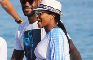 LeBron James, en vacances avec sa femme enceinte, révèle le prénom de sa fille