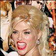 Anna Nicole Smith à Los Angeles, le 14 février 2005.