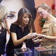 La princesse Marie de Danemark lors du Salon de la joaillerie et de l'horlogerie de Copenhague, le 24 août 2014