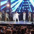 Ricky Martin en concert à Marbella, le 25 juillet 2014