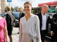 Princesse Victoria : Elégante et souriante, sa rentrée s'intensifie...