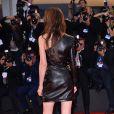 """Charlotte Gainsbourg (dans une robe Anthony Vaccarello) lors de l'avant-première du film """"Nymphomaniac"""" version longue lors du 71e festival international du film de Venise, la Mostra, le 1er septembre 2014"""