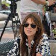 Charlotte Gainsbourg arrivant au Lido pour le 71e festival international de Venise, la Mostra le 31 août 2014