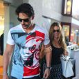 Sofia Vergara et Joe Manganiello à la sortie d'une galerie d'arts à Malibu, le 23 août 2014