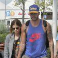 Kate Mara et Johnny Wujek à Venise, le 30 août 2014.