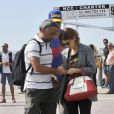 Kate Mara et son nouveau compagnon Johnny Wujek à Venise, le 30 août 2014.