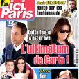 """Léa Drucker a donné naissance à son premier enfant en juillet 2014, une petite fille née de ses amours avec Julien Rambaldi, selon le magazine """"Ici Paris""""."""
