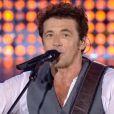 Patrick Bruel donne un concert exceptionnel au Grand Stade de Lille (Stade Pierre Mauroy de Villeneuve-d'Ascq), le vendredi 5 septembre 2014.