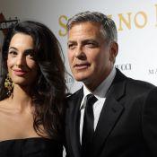 George Clooney et Amal Alamuddin: Futurs mariés divins pour leur 1er tapis rouge