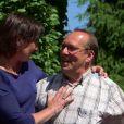 """Chrystèle et Thierry - Premier épisode du bilan de """"L'amour est dans le pré 2014"""" sur M6. Lundi 8 septembre 2014."""