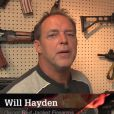 "Will Hayden de l'émission ""Sons of gun"" sur Discovery Channel"