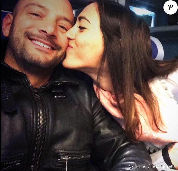 """Kevin et sa compagne Caroline, tous les deux ex-candidats de """"Secret Story 6"""". Ils sont plus amoureux que jamais."""