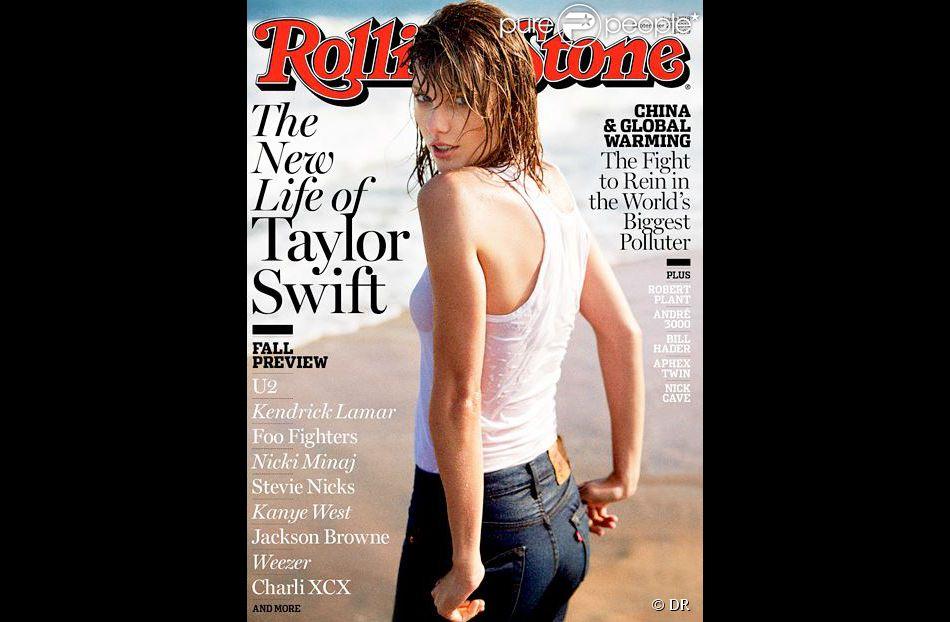 Taylor Swift en couverture de Rolling Stone, édition de septembre 2014