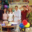 Friends : Courteney Cox, David Schwimmer, Jennifer Aniston, Lisa Kudrow, Matt LeBlanc