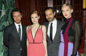 Jessica Chastain, étoile radieuse : Poupée glamour et rétro à New York