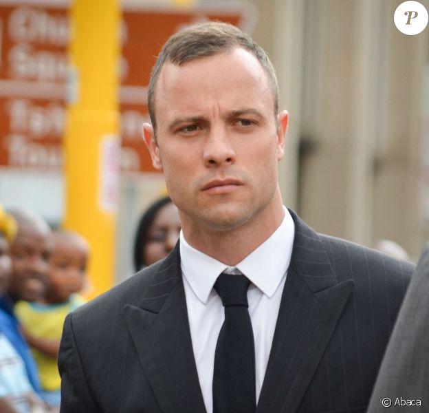 Oscar Pistorius lors de son procès à Pretoria, le 25 mars 2014.