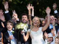 Sandrine Corman : Mariage de princesse sous le regard bienveillant de son fils