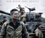 Brad Pitt, balafré et crasseux : Le héros en 'Fury' s'affiche...