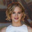 Jennifer Lawrence lors d'un photocall pour 'The Hunger Games : Mockingjay - Part 1' (La Revolution partie 1) lors du Festival de Cannes le 17 mai 2014