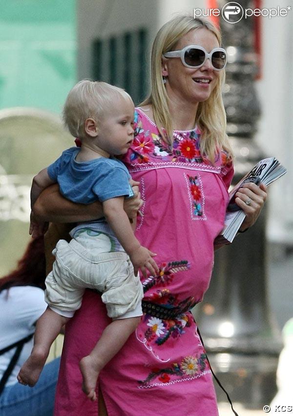 Naomi Watts et Alexander, promenade à New York