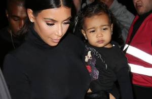 Kim Kardashian : Sa petite North au premier rang, star de la Fashion Week !