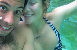 Example et Erin McNaught, enceinte : Sexy et drôles, leurs photos aux Maldives