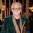 """Gilbert Rozon lors de la générale du spectacle """"Mistinguett, reine des années folles"""" au Casino de Paris, le 25 septembre 2014"""