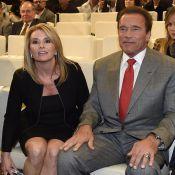 Arnold Schwarzenegger : Honoré devant les yeux de sa belle Heather à Madrid