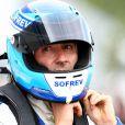 Fabien Barthez à Albi pour le Grand Prix Automobile