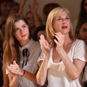 Michèle Laroque et sa fille, Emmanuelle Béart... : Séduites par la mode Paul & Joe