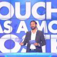 Cyril Hanouna présente Touche pas à mon poste, le mardi 16 septembre 2014.