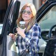 Exclusif - Ellen Pompeo descend de sa voiture à Beverly Hills, le 26 septembre 2014