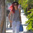 Rumer Willis fait du shopping à West Hollywood, le 15 mai 2014.