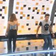 """Rayane Bensetti et Denitsa Ikonomova - Troisième prime de """"Danse avec les stars 5"""" sur TF1. Le vendredi 10 octobre 2014."""