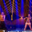 """Nathalie Péchalat et Grégoire Lyonnet - Troisième prime de """"Danse avec les stars 5"""" sur TF1. Le vendredi 10 octobre 2014."""