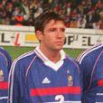L'équipe de France contre le Maroc le 20 janvier 1999.