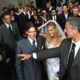 Mariage de Vincent et Sophie Candela à Rome le 31 juillet 2000.