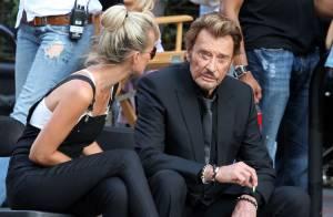 Johnny Hallyday : Ses filles et Laeticia sur le tournage de son nouveau clip