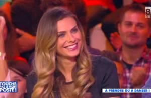 TPMP - Clara Morgane : Danseuse sexy et séductrice face à Jean-Michel Maire