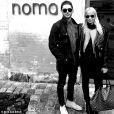 Sami Miro et Zac Efron posent à Copenhague le 14 octobre 2014.