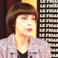 Mireille Mathieu se confie sur Figaro TV, octobre 2014.