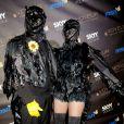 Heidi Klum et Seal fêtent Halloween, à Los Angeles le 31 octobre 2009.