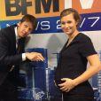 Roselyne Dubois dévoile son baby-bump sur Twitter le 17 octobre 2014